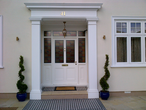 Bespoke Jesmonite Door Surround & Window Architraves