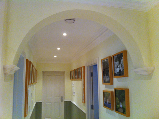 Plain Arch with SM89 Corbels