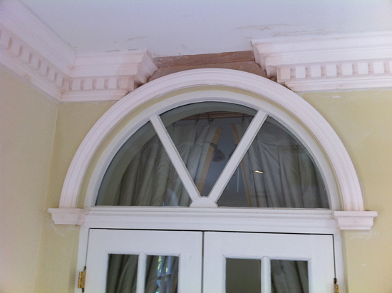 Door Arch with SM43 Cornice