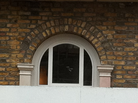 External Jesmonite Arched Window Architraves & Pilasters